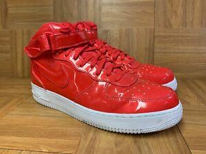 RARE🔥 Nike Air Force 1 Mid LV8 UV PACK Siren Red Sz 11.5 AO0702-600 Men's Shoes