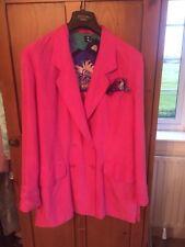 Betty Barclay Pink Silk Ladies Jacket Size 10