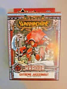 Warmachine - Khador: EXTREME JUGGERNAUT Heavy Warjack Unit - Mini New in Box