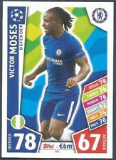 TOPPS MATCH ATTAX CHAMPIONS LEAGUE 2017-18- #111-CHELSEA & NIGERIA-VICTOR MOSES