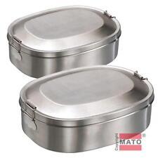 Envases de plástico de cocina de acero inoxidable