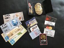 Blade Runner Deck Badge WALLET PROP SET ID 16 PIECES