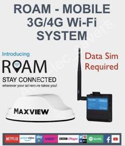 Maxview MXL050, ROAM - MOBILE 3G/4G Wi-Fi SYSTEM