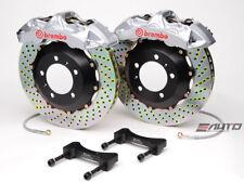 Brembo Front GT Brake 6Pot Caliper Silver 355x32 Drill Disc Benz W203 W209 R171