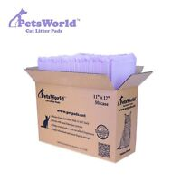 PETSWORLD Cat Pad Refills for Tidy Cats Breeze Litter System, 50 Pads