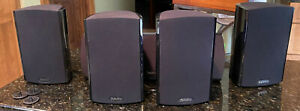 4 Definitive Technology Promonitor 800 Speakers & 1000 ProCenter Speaker Tested