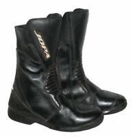 """ JOPA "" Motorradstiefel / Biker - Stiefel / Boots in schwarz ca. Gr. 39,5"