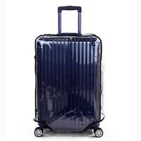 Scratch-Resistant PVC Transparent Protective Luggage Suitcase Cover Case Travel