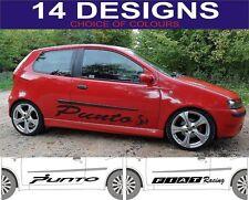 Fiat Punto Autocollants Latéraux ABARTH autocollants 2 hors choix de Design