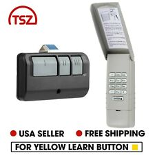 Fit LiftMaster 877LM Wireless Garage Door Entry Keypad Yellow Learn Visor 893LM