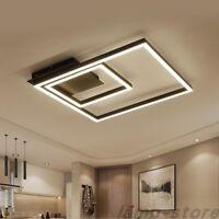 Modern Square LED Ceiling Lamp Acrylic Chandelier living room bedroom Light