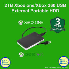 Xbox 2TB Portable USB3.0 External Hard Drive for Xbox One/ XBOBX360**BRAND NEW**