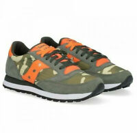 SAUCONY JAZZ ORIGINAL 2044 536 verde arancio sneaker uomo green orange man
