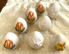 1199 Goebel Lot Of 8 Annual Eggs 1982, 1984, 1985
