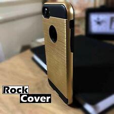 Funda de Metal de alto concepto iPhone 7 shell compuesto de efecto protector de pantalla de oro
