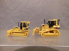 Ho Scale Norscot Caterpillar Cat Bulldozers D5G Xl & D5M