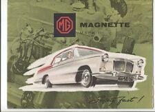 Morris Oxford FILTRO ARIA 1959 a 1961 1489cc SERIE V Series 5