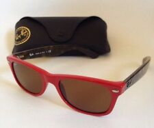 Ray-Ban Wayfarer RB2132 726 5218 3N Red Tortoise UVA/UVB Sunglasses Teen Girl