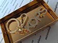 NEW Michael Kors 34H6GKCK2U GoldTone KORS Jewel Key-Chain Charm Fob Boxed