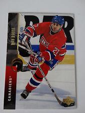 1994-95 Upper Deck #101 Mathieu Schneider Canadiens Hockey Error Wrong Name Card
