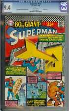 SUPERMAN #187 CGC 9.4 WHITE PAGES