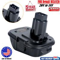 For Dewalt DCA1820 20V To 18V XRP Converter Adapter For Dewalt Li-Ion Battery