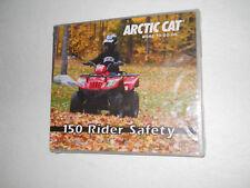 ARCTIC CAT ATV 150  RIDER  SAFETY DVD TRAINING VIDEO TRV150 DVX90 ALTERRA 90