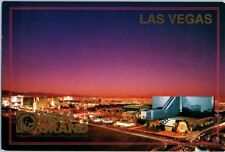 MGM Grand Lion Las Vegas Hotel Vintage Casino postcard Strip Night c. 1993 NOS c