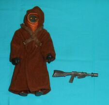 "vintage Star Wars LARGE-SIZE (12"") JAWA figure w/ original weapon, harness, cape"