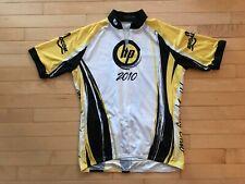 Sugoi HP 2010 CYCLING CLUB Jersey Size MEDIUM Hewlett Packard Yellow White