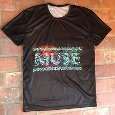 Muse tour concert t shirt 2nd law 2013 Size L
