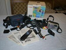Canon DM-MV100 Mini DV Camcorder inkl. kpl. Zubehörpaket und DV Ausgang