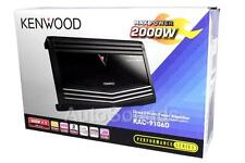 Kenwood KAC-9106D 2000 Watts Monoblock Class D Car Audio Subwoofer Amplifier New