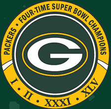 GREEN BAY PACKERS 4 TIME SUPER BOWL CHAMPIONS PIN