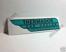 Thermador Car Cooler Sticker, evaporative swamp cooler decal