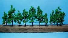 "Multi Scale-Model Railroad Scenery-Green Trees-10 Pcs-2 Sizes-2 3/4"" & 3 9/16"""