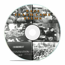 NAZI LIBERATION DEATH CAMPS, RARE OFFICIAL WWII DOCUMENTARY US GOVT FILMS -J08
