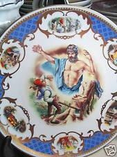 Franklin Mint Les Souhaits Ridicules Foolish Wishes 1983 Ltd Ed Plate Mib
