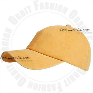 Baseball Cap Washed Cotton Hat Adjustable Polo Style Solid Plain Blank Dad Men