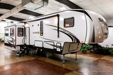 New 2021 Sabre 36BHQ Mid Bunkhouse 2 Bedroom Fifth 5th Wheel with Auto Leveling