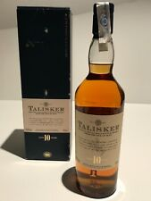 TALISKER 10 YEARS OLD VERSIÓN SINGLE MALT SCOTCH WHISKY IN BOX 70cl.