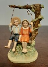 "Norman Rockwell Figurine ""Summer Fun"" - 1983"