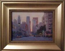 Los Angeles City Scene by Gamlet Khoudaverdian