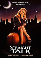 STRAIGHT TALK DVD - SINGLE DISC EDITION - NEW UNOPENED - DOLLY PARTON