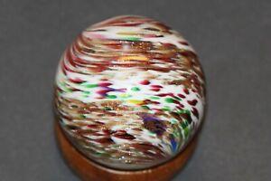 2 Inch Baker Lutz Onionskin Marble  Mint