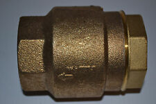 "NEW Watts 2"" LF600 Silent Check Valve, Lead Free Bronze Alloy"