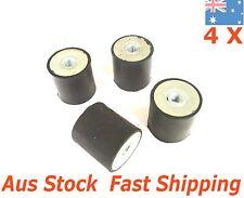 4pc M10 Anti Vibration Mounts Rubber Isolator Pumps Compressors Female Female FF
