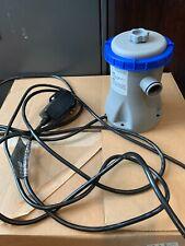 Bestway Flowclear Pool Filter Pump Model # 58511E - Used for just 1 week