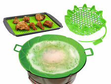 Cooking Set Boil in Bag Pot Cover Raised Baking Mat Oven Tray Liner Gadget NEW