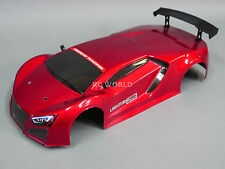 1/10 RC Car RED SPORT Body SHELL Painted + Finished Red Cat 200mm BODY SHELL